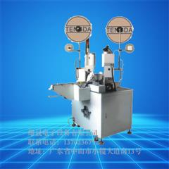 XS-Automatic tangent peeling terminal pressure machine (double)